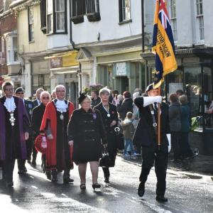 A dignified March on Remembrance Day